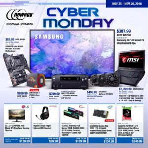 picture of Cyber Monday 2018: Newegg Ad Scan