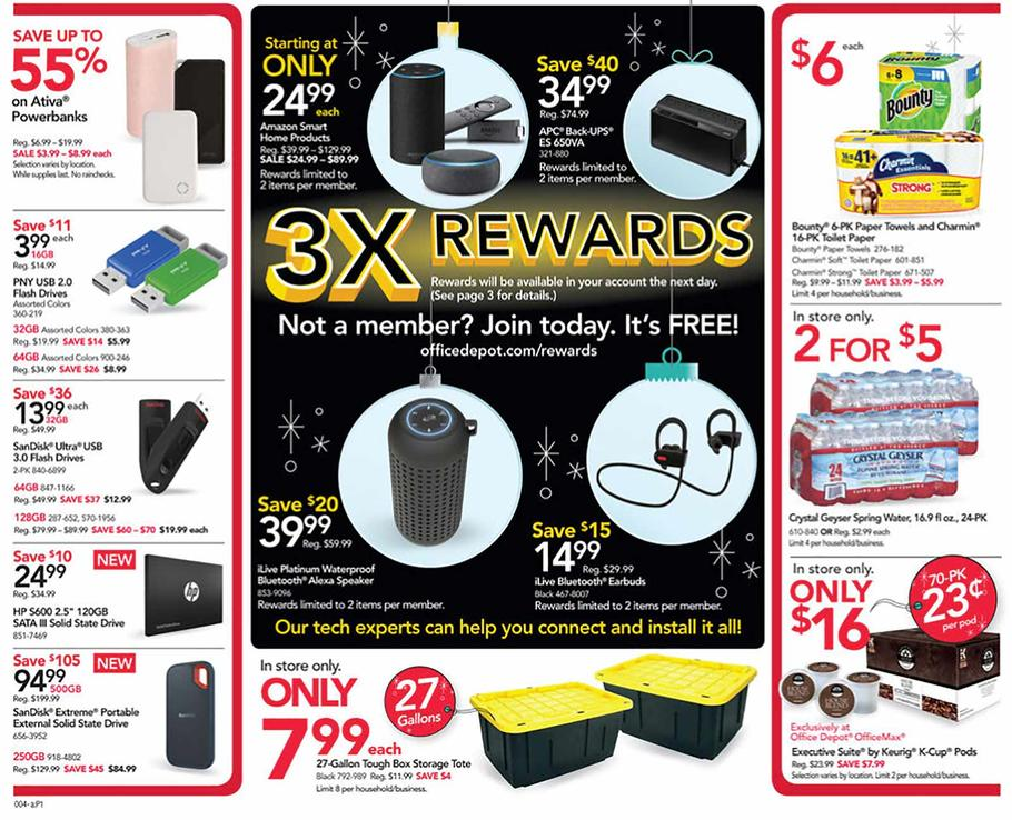 OfficeDepot Officemax Black Friday 2018 Ad