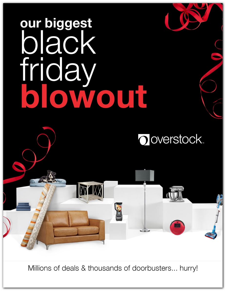 Overstock Black Friday 2018 Ad