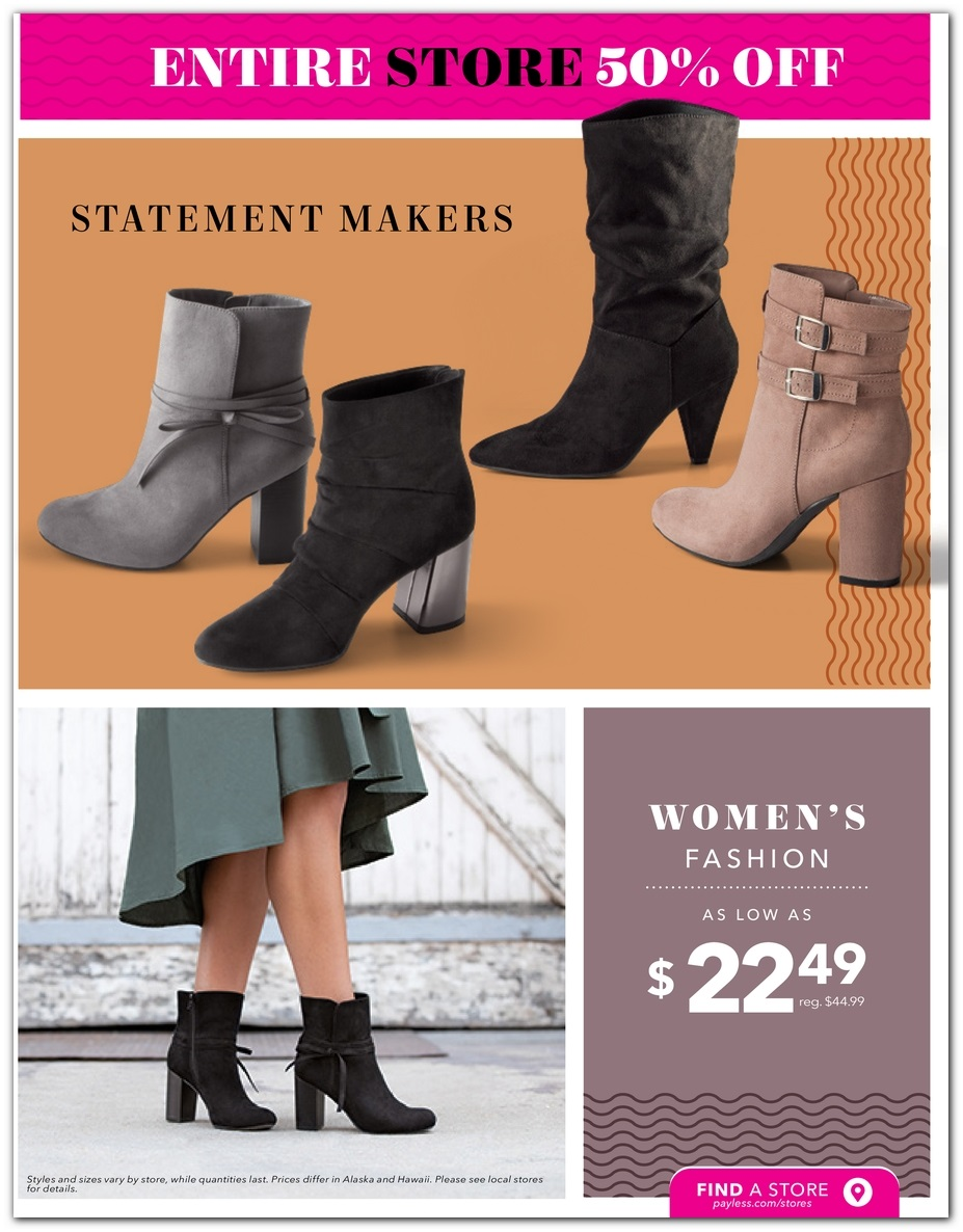 Payless Shoesource Black Friday 2018 Ad