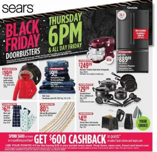 picture of Black Friday 2018: Sears Ad Scan