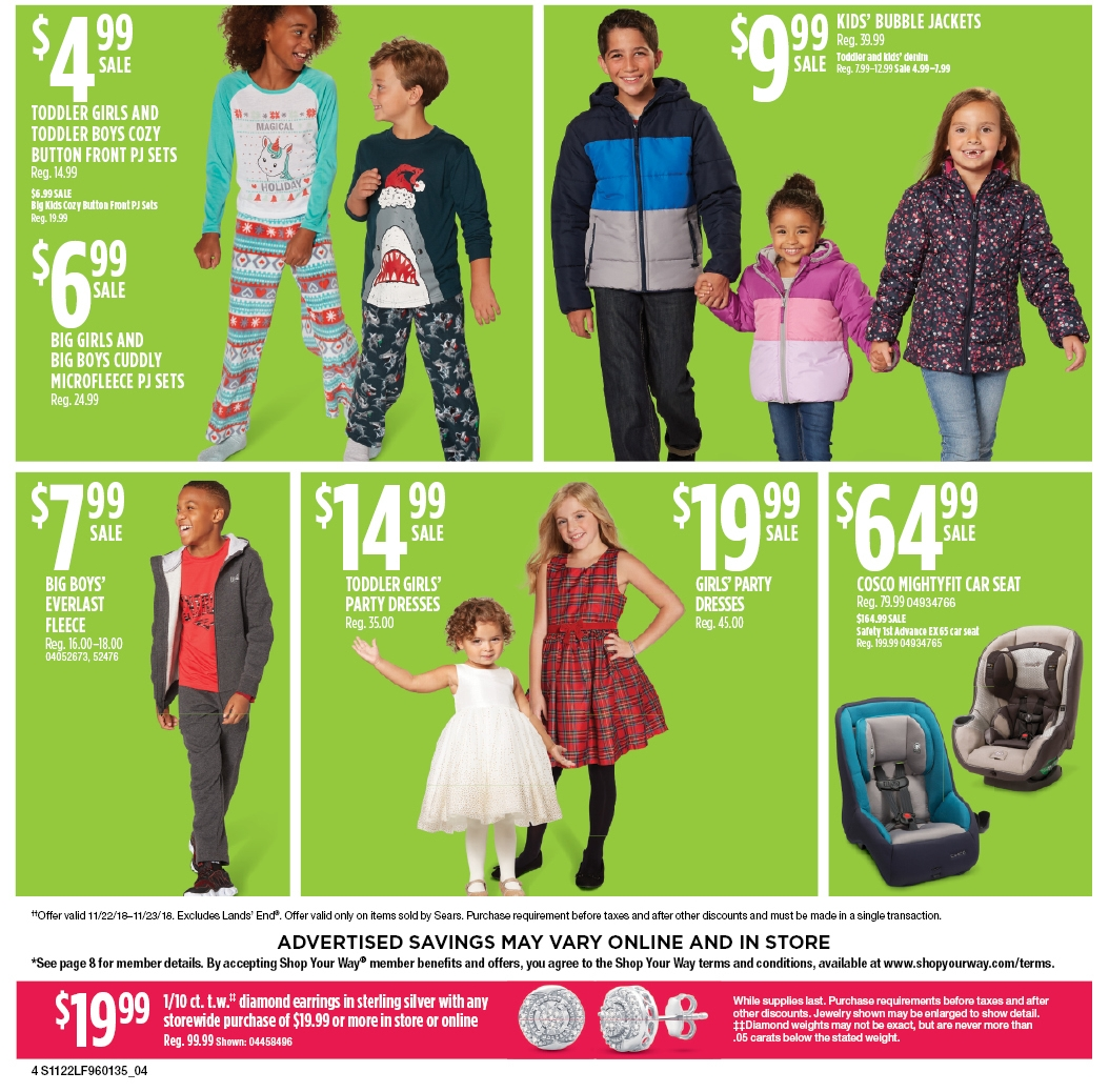 Sears Black Friday 2018 Ad