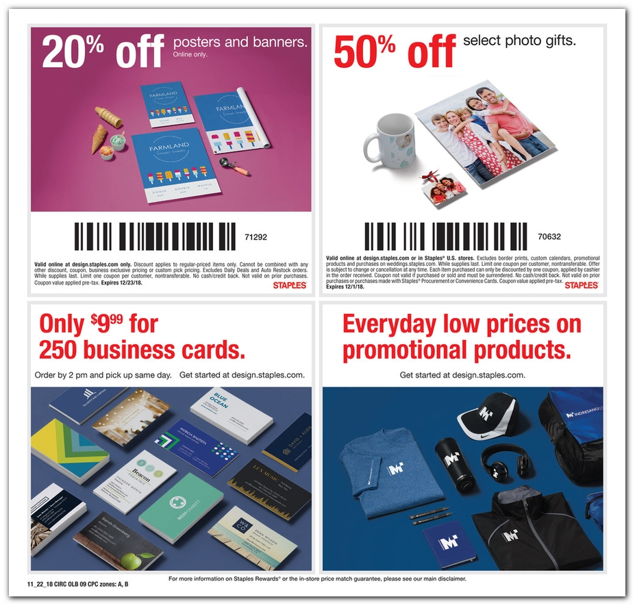 Staples Black Friday 2018 Ad