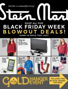 picture of Black Friday 2018: Stein Mart Ad Scan