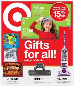 picture of Pre Black Friday 2018: Target Ad Scan