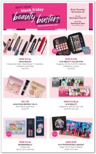 picture of Black Friday 2018: Ulta Beauty Ad Scan