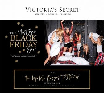 picture of Black Friday 2018: Victoria's Secret Ad Scan