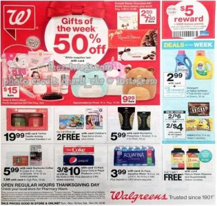 picture of Black Friday 2018: Walgreens Ad Scan