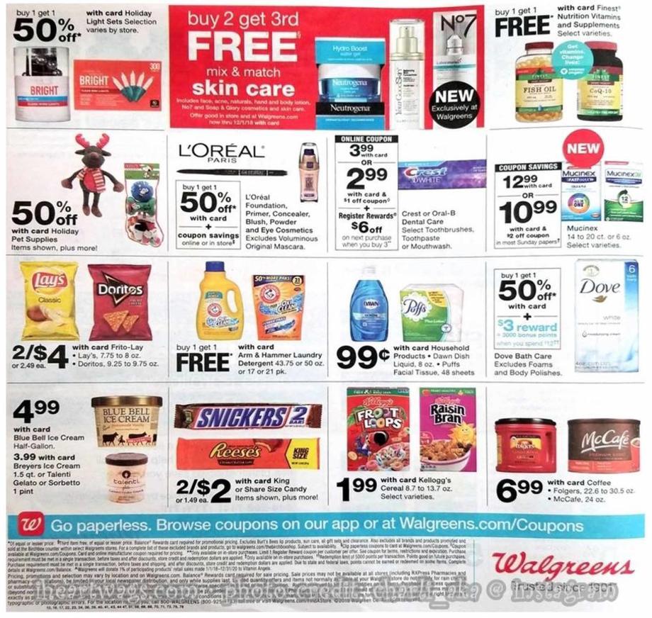 Walgreens Black Friday 2018 Ad