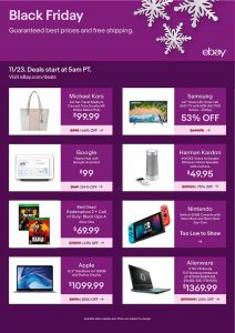 picture of Black Friday 2018: eBay Ad Scan
