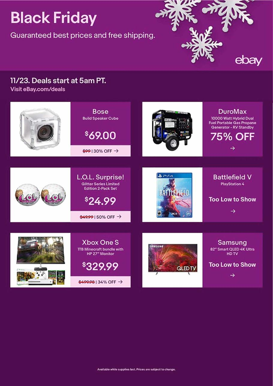 eBay Black Friday 2018 Ad
