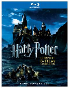 picture of Harry Potter: The Complete 8-Film Collection Blu-Ray