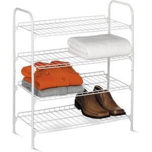 picture of Honey Can Do 4-Tier Wire Shoe Rack Sale