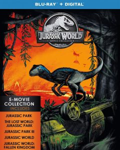 picture of Jurassic World: 5-Movie Collection Blu-ray + Digital Sale