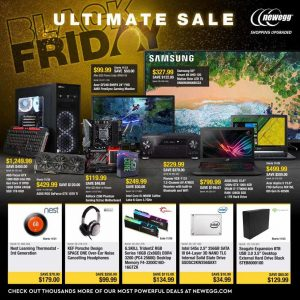 picture of Live: Black Friday 2018: Newegg Ad Scan - Laptops, Upgrades, More