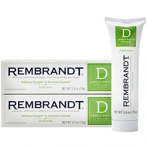 picture of Rembrandt Deeply White + Peroxide Whitening Toothpaste Sale