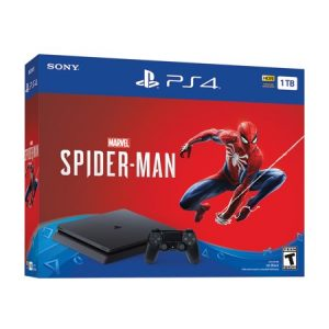 picture of Sony PlayStation 4 PS4 Slim 1TB Spiderman Bundle Sale