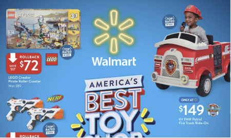 picture of Walmart America's Best Toy Shop Catalog