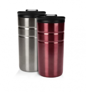 picture of Contigo Bueno 12oz 2pk Vacuum-Insulated Stainless Steel Travel Mug with Flip Lid