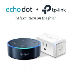 picture of Echo Dot 2nd Gen with Alexa w/ TP-Link Smart Plug Bundle