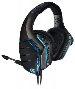 picture of Logitech G633 Artemis Spectrum – RGB 7.1 Dolby and DST Headphone Surround Sound Gaming Headset – PC, PS4, Xbox One, Switch, and Mobile Compatible