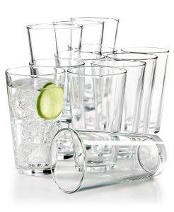 picture of Martha Stewart Essentials 12-Pc. Large Tumblers Set Sale - Wine Glasses Sale