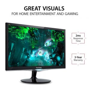 picture of Viewsonic 24-inch Full HD LED 1080p Gaming Monitor