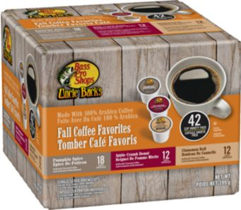 picture of Bass Pro Shops Uncle Buck's Fall Coffee 42 K Cups Sale
