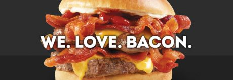 picture of Free Baconator Burger and $0 delivery through Doordash