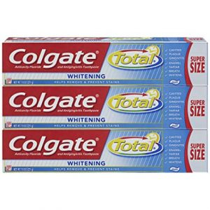 picture of Colgate Total Whitening Toothpaste - 7.8 ounce (3 Count) Sale