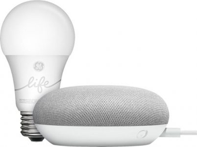 picture of Google Smart Light Starter Kit w/Assistant w/2 Free Smart LED bulbs Sale