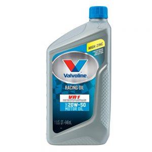 picture of Valvoline 20W-50 VR1 Racing Motor Oil 1Qt - 6pk Sale