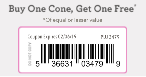 Baskin Robbins Coupon