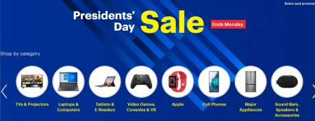 picture of Best Buy President's Day Deals