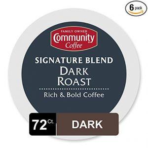picture of Community Coffee Signature Blend Dark Roast 72 KCups Sale
