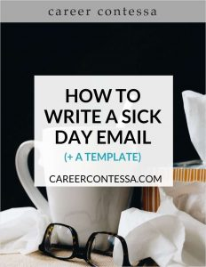 picture of Free eGuide: How to Write a Sick Day Email (+ a Template)