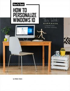 picture of Free How to Personalize Windows eBook
