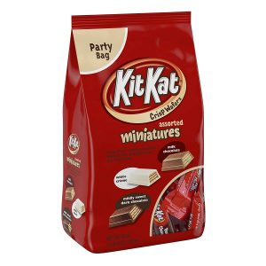 picture of Kit Kat Chocolate Bars Miniatures, 36oz (White, Milk and Dark Chocolate) Sale
