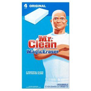 picture of Mr. Clean Magic Eraser Multi-Surface Cleaner, Original, 4 Count Sale