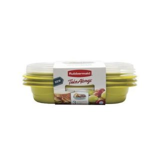 picture of Rubbermaid 3-pk Snack To Go Container Sale