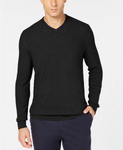 picture of Tasso Elba Merino Wool Men's Sweater Sale