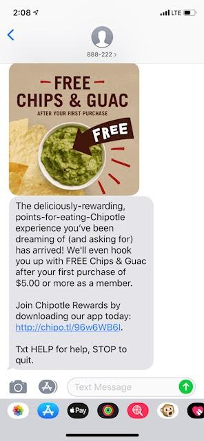 Chipotle Mexican Grill Coupon