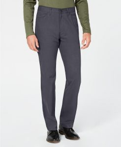 picture of Tasso Elba Men's Straight-Fit Stretch Pants Sale