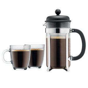 picture of Bodum Brazil 8-cup French Press Coffee For 2 Set Sale