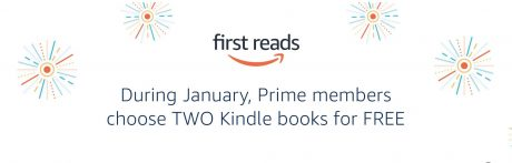 picture of Amazon First Reads - TWO Free books for Prime Members January 2021