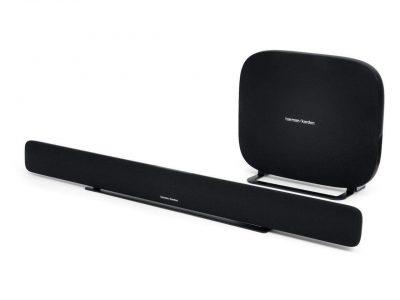 picture of Harman Kardon Omni Bar+ Wireless HD Soundbar with Wireless Subwoofer Sale
