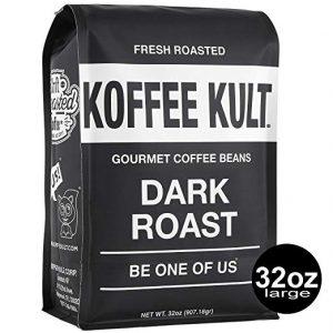 picture of Koffee Kult Dark Roast Coffee Beans 32oz Sale