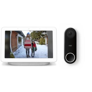 picture of Nest Hello Smart Wi-Fi-Video Doorbell and Hub Sale