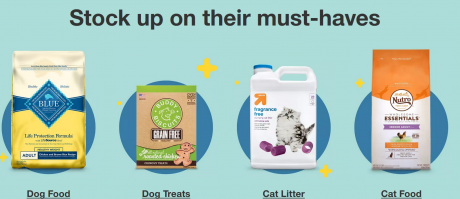 picture of Target 30% off Pet Products