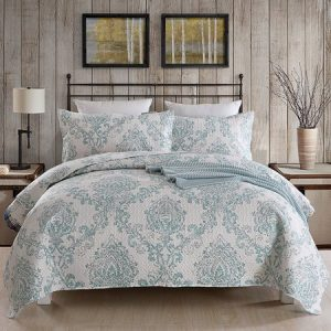 picture of 3-pc Printed Bedding Quilt Set Sale